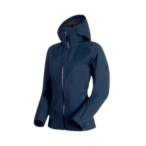 Mammut Women's Convey Tour HS Hooded Jacket: Marine-Jackets-Likeys