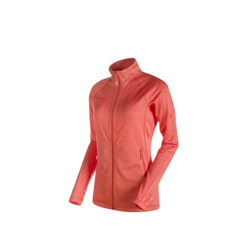 Mammut Women's Runbold Light Jacket: Barberry-Fleeces-Likeys