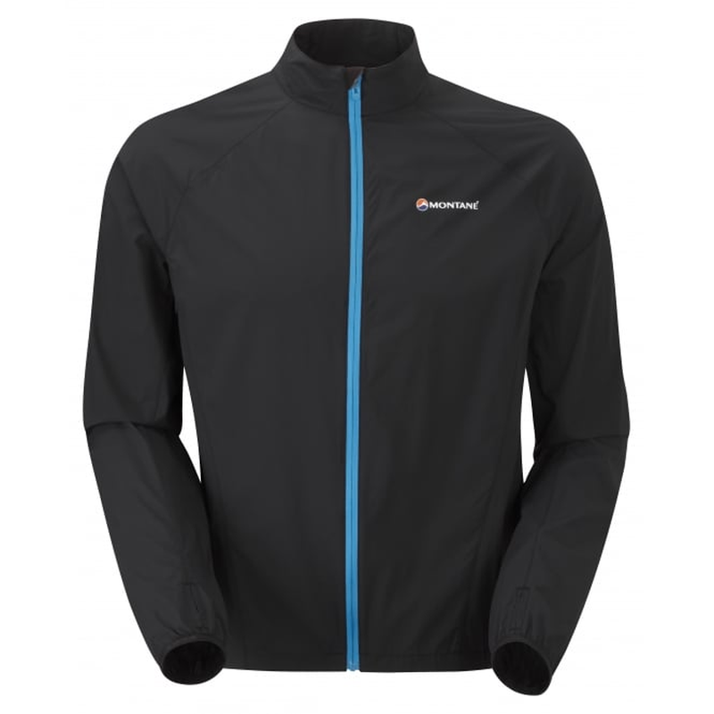 Montane Men's Featherlite Trail Jacket: Black-Jackets-Likeys