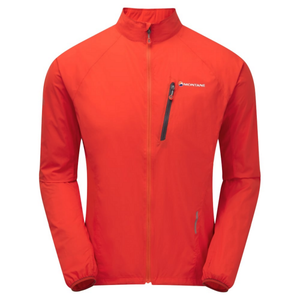 Montane Men's Featherlite Trail Jacket: Flag Red-Jackets-Likeys