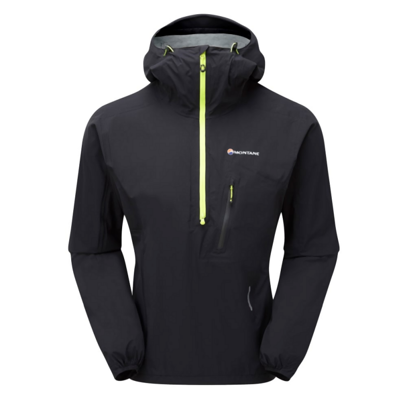 Montane Men's Minimus Stretch Ultra Pull-On: Black-Jackets-Likeys