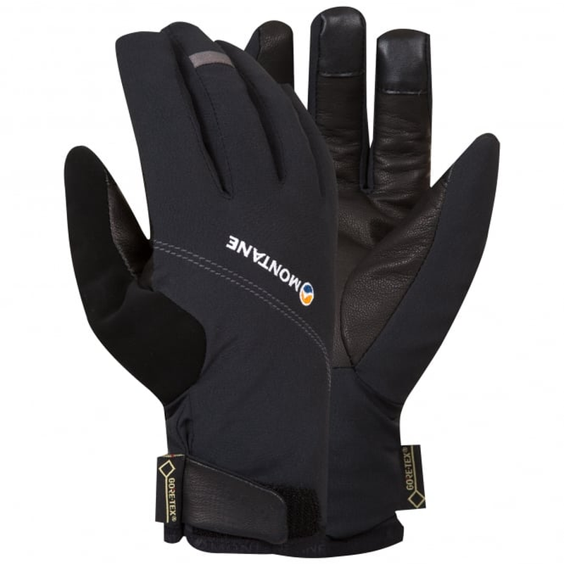 Montane Men's Tornado Glove: Black-Gloves & Mitts-Likeys