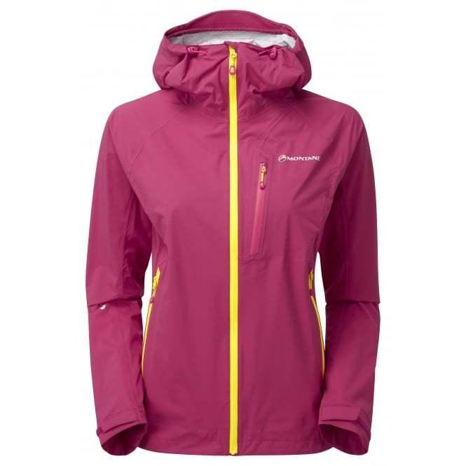 Montane Women's Minimus Stretch Jacket: French Berry-Jackets-Likeys