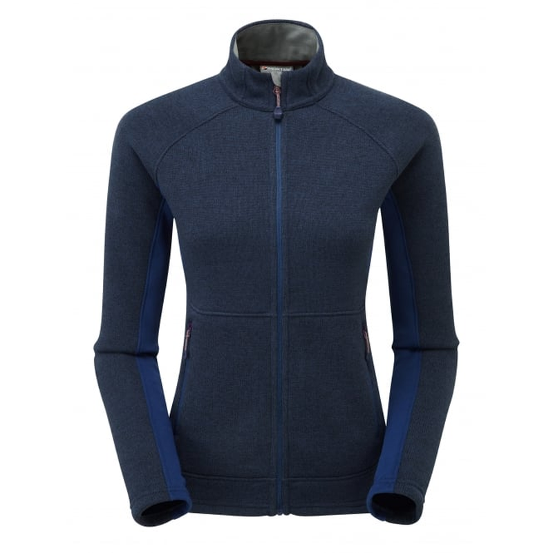 Montane Women's Neutron Jacket: Antarctic Blue-Fleeces-Likeys