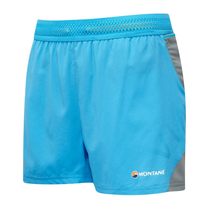 Montane Women's Snap Shorts: Cerulean Blue