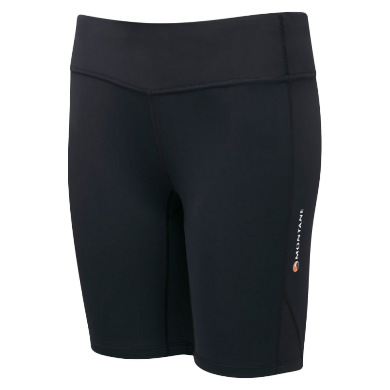 Montane Women's Trail Series Short Tights: Black-Shorts-Likeys