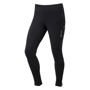 Montane Women's Trail Series Thermal Tight: Black-Leggings-Likeys