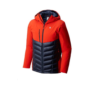 Mountain Hardwear Men's Supercharger Insulated Jacket: Fiery Red-Jackets-Likeys