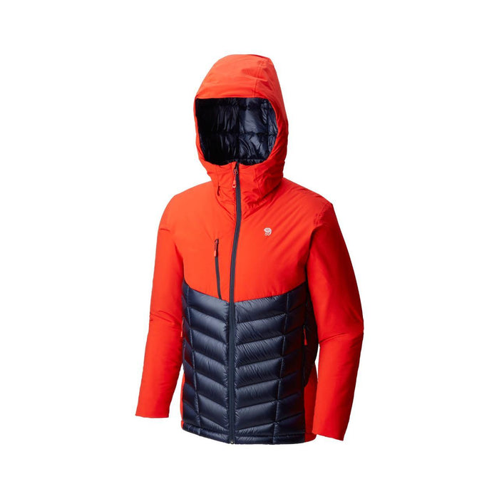 Mountain Hardwear Men's Supercharger Insulated Jacket: Fiery Red