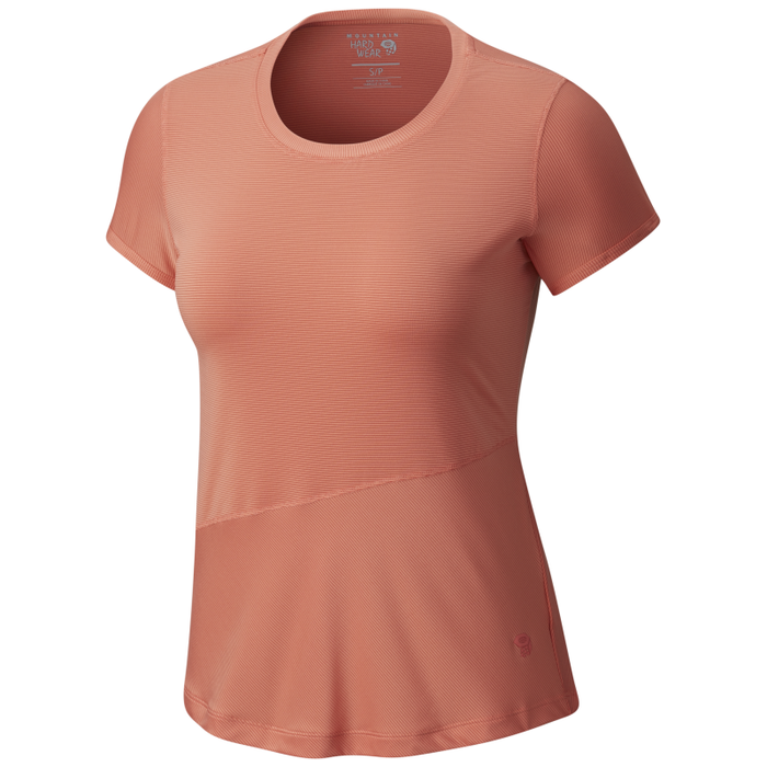 Mountain Hardwear Women's Wicked Lite SS Tee: Caliente