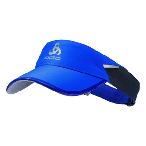 Odlo Fast & Light Visor: Energy Blue-Headwear-Likeys