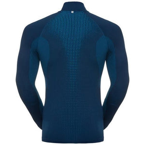 Odlo Men's SUW Top Turtle neck 1/2 zip l/s PERFORMANCE Warm-Baselayers-Likeys