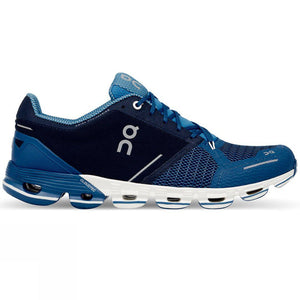 On Cloudflyer Men's Running Shoes Blue/White-Men's Shoes-Likeys
