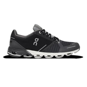 On Cloudflyer Women's Running Shoes Black/White-Women's Shoes-Likeys
