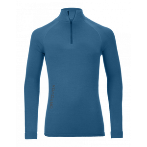 Ortovox Men's 230 Competition Zip Neck: Blue Sea-Baselayers-Likeys