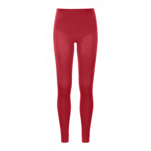 Ortovox Women's 230 Competition Long Pants: Hot Coral-Baselayers-Likeys
