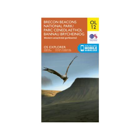 OS Explorer Brecon Beacons OL12: West & Central-Maps & Books-One Size-Likeys