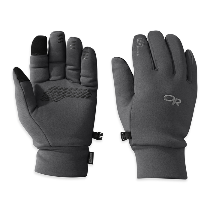 Outdoor Research Men's PL 400 Sensor Gloves: Charcoal