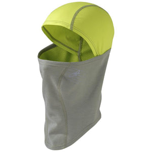 Outdoor Research Shiftup Balaclava: Pewter/Lemongrass-Headwear-Likeys