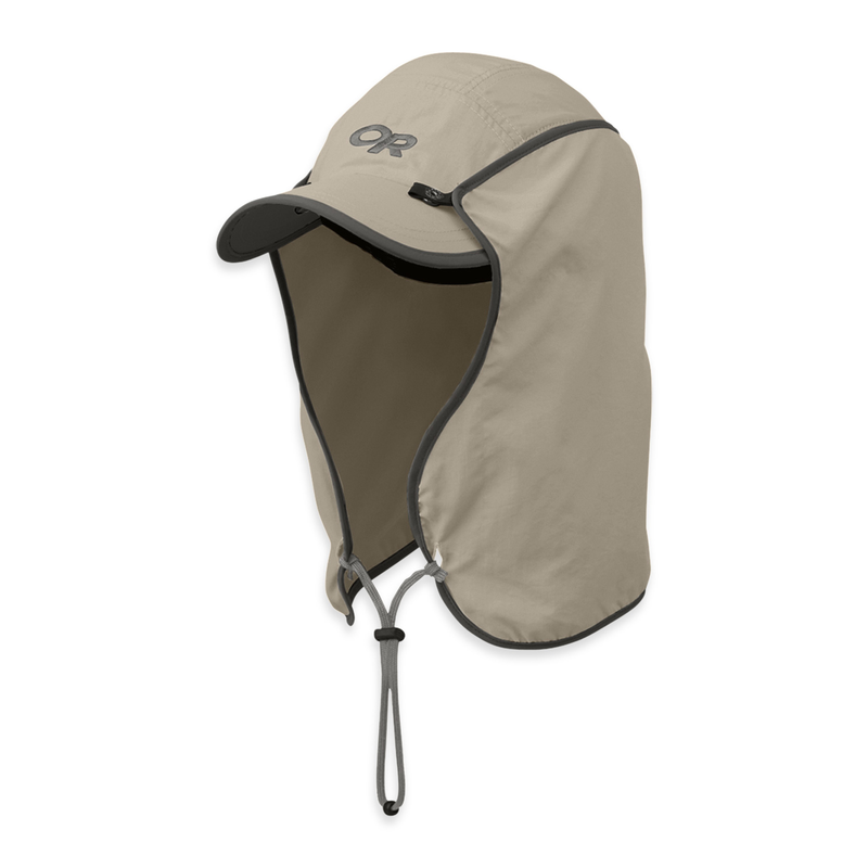 Outdoor Research Sun Runner Cap: Khaki-Headwear-Likeys