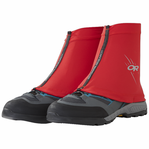 Outdoor Research Surge Running Gaiters: Hot Sauce-Footwear Accessories-Likeys