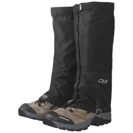 Outdoor Research Womens Rocky Mountain High Gaiters: Black-Footwear Accessories-Likeys