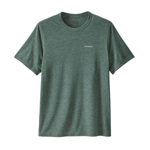 Patagonia Men Nine Trails SS Shirt: Micro Green-Tees-Likeys