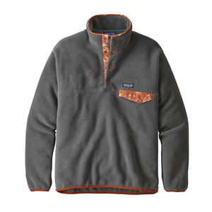 Patagonia Men's LW Synch Snap-T P/O EU Fit: Forge Grey-Fleeces-Likeys