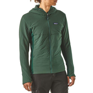 Patagonia Men's Nano-Air Light Hybrid Hoody: Light Gecko Green-Jackets-Likeys