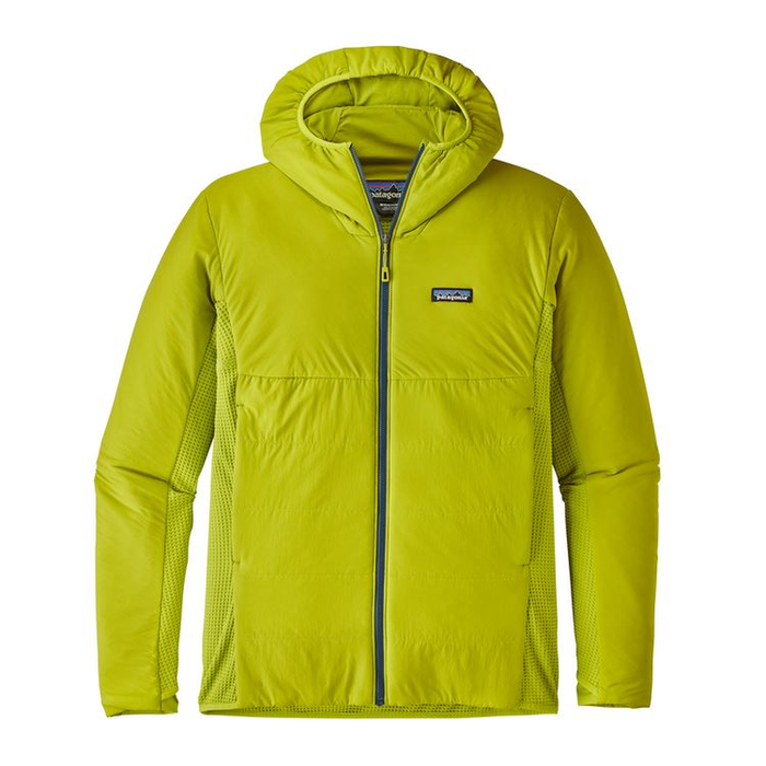 Patagonia Men's Nano-Air Light Hybrid Hoody: Light Gecko Green