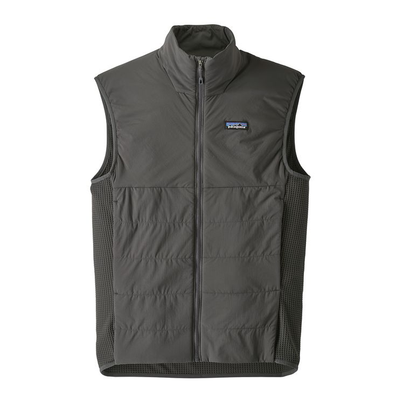 Patagonia Men's Nano-Air Light Hybrid Vest: Forge Grey-Gilets-Small-Likeys