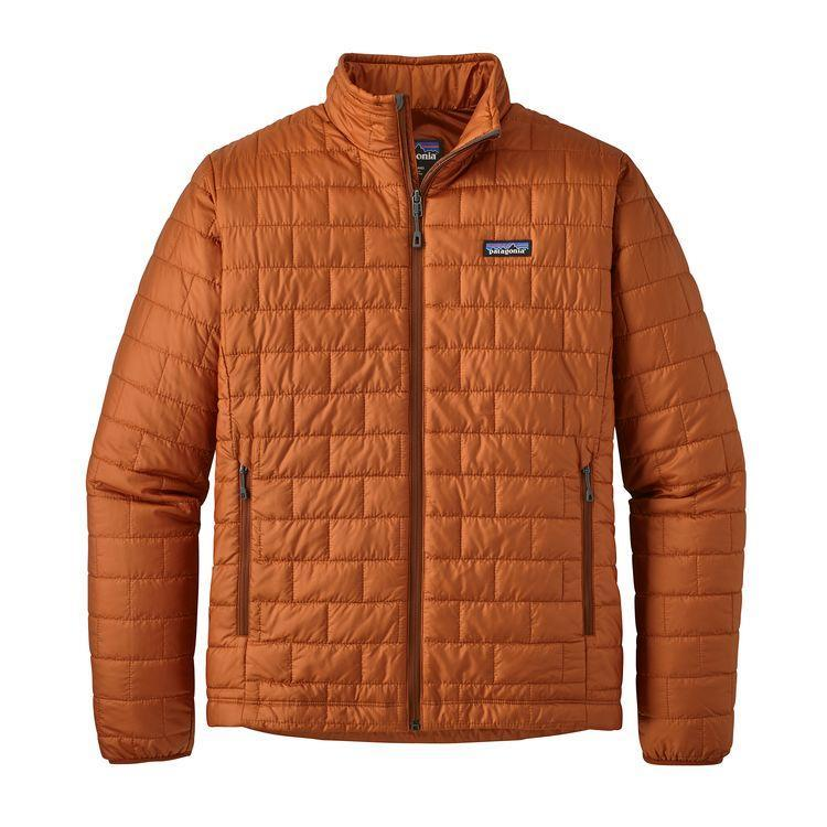 Patagonia Men's Nano Puff Jacket: Copper Ore-Jackets-Likeys