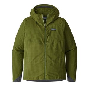 Patagonia Men's R1 TechFace Hoody: Sprout Green-Fleeces-Small-Likeys