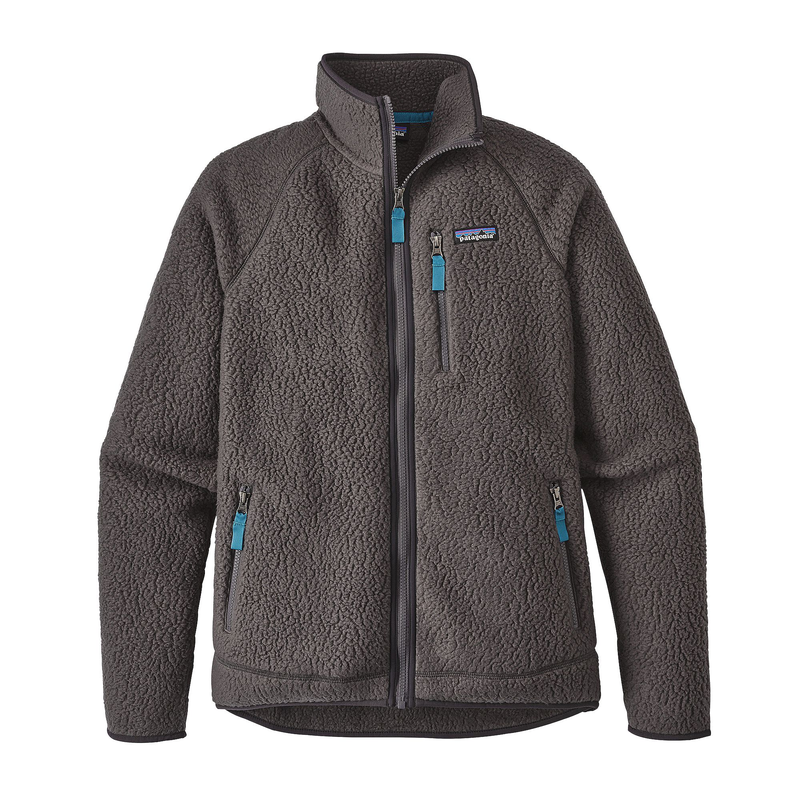 Patagonia Men's Retro Pile Jacket: Forge Grey-Fleeces-Likeys