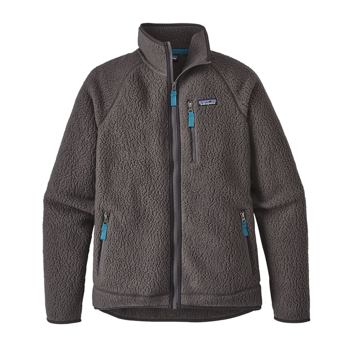 Patagonia Men's Retro Pile Jacket: Forge Grey