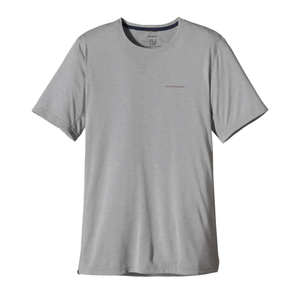 Patagonia Men's SS Nine Trails Shirt: Feather Grey-Tees-Small-Likeys