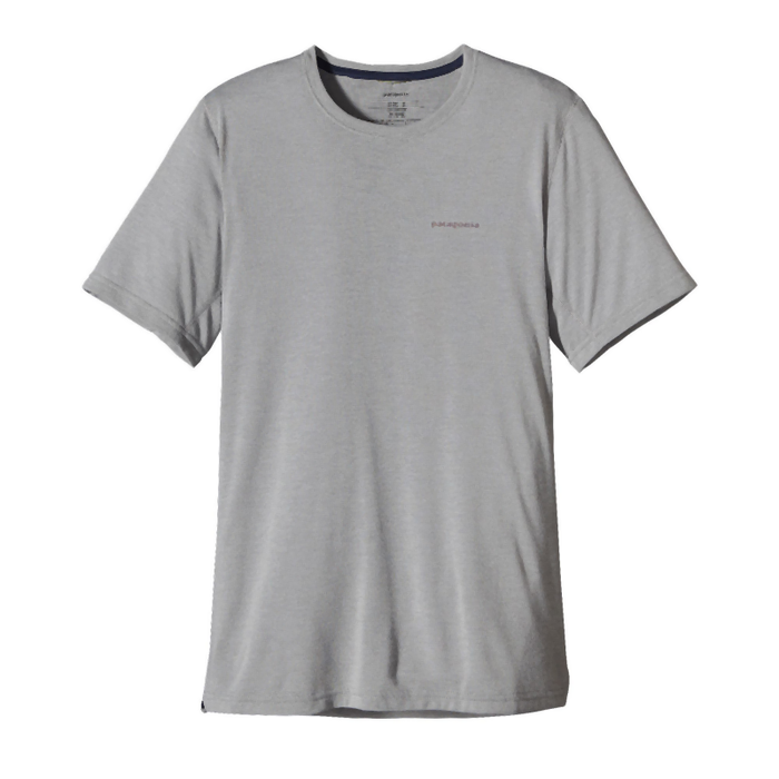 Patagonia Men's SS Nine Trails Shirt: Feather Grey