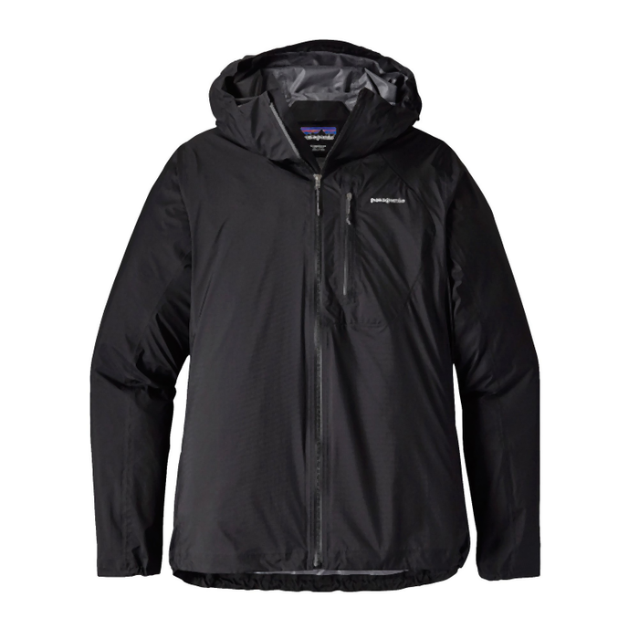 Patagonia Men's Storm Racer Jacket: Black