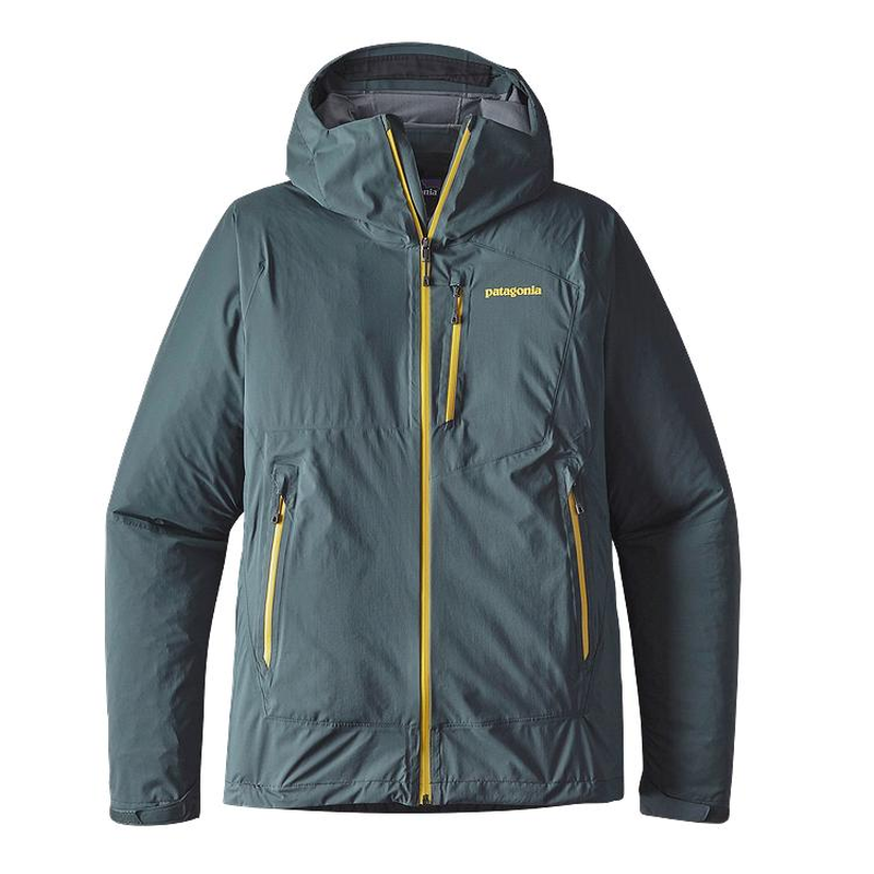 Patagonia Men's Stretch Rainshadow Jacket: Nouveau Green-Jackets-Small-Likeys