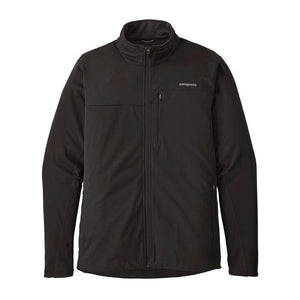 Patagonia Men's Wind Shield Jacket: Black-Jackets-Likeys