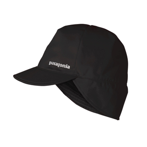 Patagonia Wind Shield Beanie: Black-Headwear-Likeys