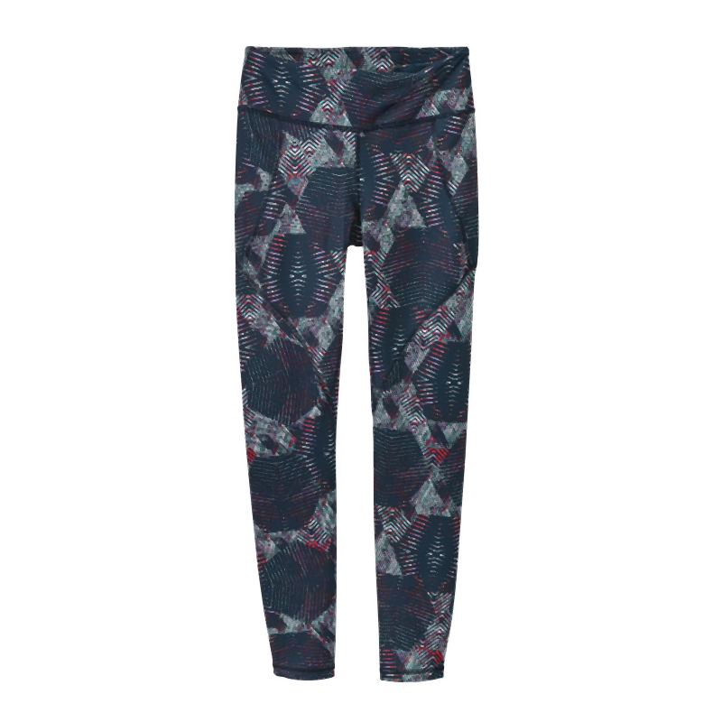 Patagonia Women Centered Tights: Tech Hex Navy Blue-Leggings-Likeys