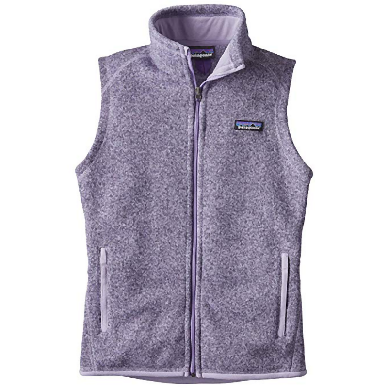 Patagonia Women's Better Sweater Vest: Petoskey Purple-Gilets-Likeys