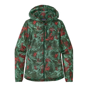 Patagonia Women's Houdini Jacket: Wind Power/Micro Green-Jackets-Likeys