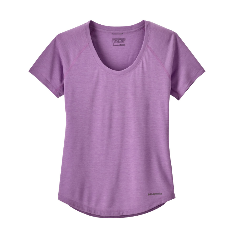 Patagonia Women's Nine Trails SS Shirt: Light Acai-Tees-Likeys