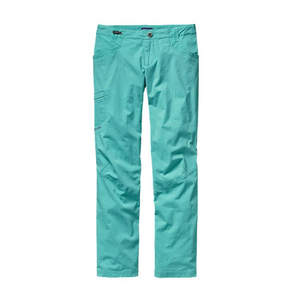 Patagonia Women's Venga Rock Pants: Howling Turquoise-Trousers-Likeys