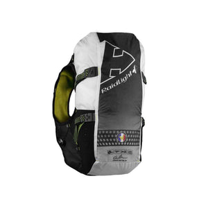 Raidlight Gilet Responsiv 20L + 2 600ml: Black/Yellow-Backpacks & Bags-Likeys