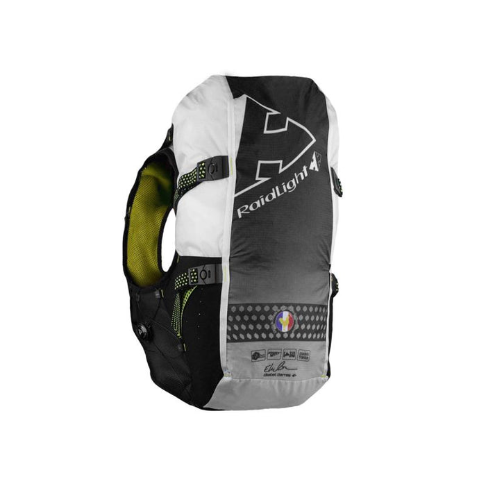 Raidlight Gilet Responsiv 20L + 2 600ml: Black/Yellow
