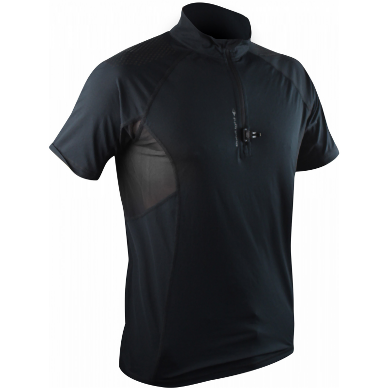 Raidlight Men's Ultralight SS Top: Black-Tees-Likeys