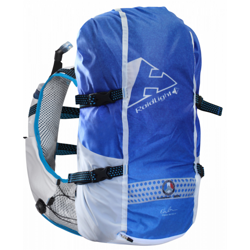 Raidlight Responsiv 25L M: Grey/Electric Blue-Backpacks & Bags-Likeys